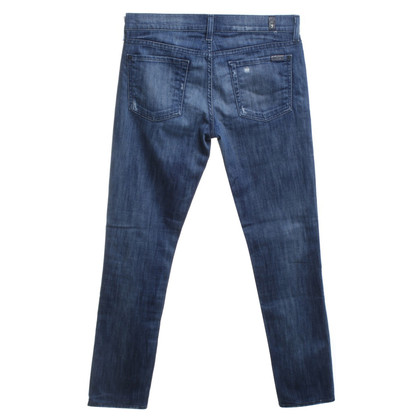 7 For All Mankind Jeans in a distroyed look