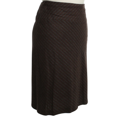 Laurèl Patterned rok in Bruin