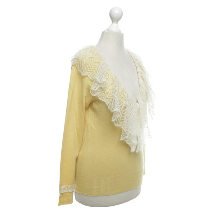 Louis Vuitton Sweater in geel