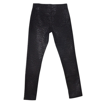 Saint Laurent Jeans met animal print