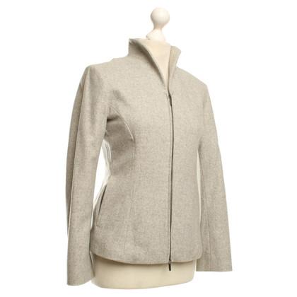 Jil Sander Short jacket in light gray