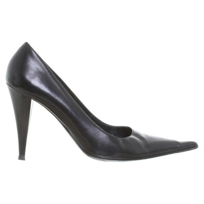 Gianmarco Lorenzi Pumps in Schwarz