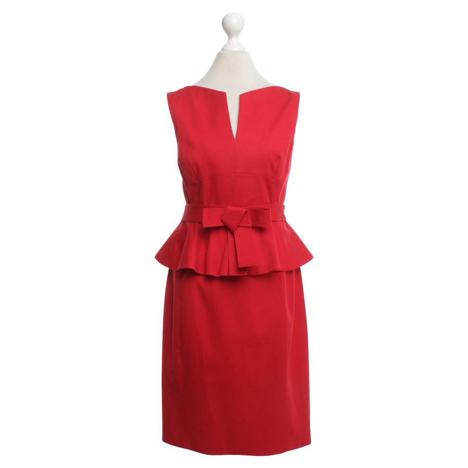 karen millen robe en rouge acheter karen millen robe en. Black Bedroom Furniture Sets. Home Design Ideas