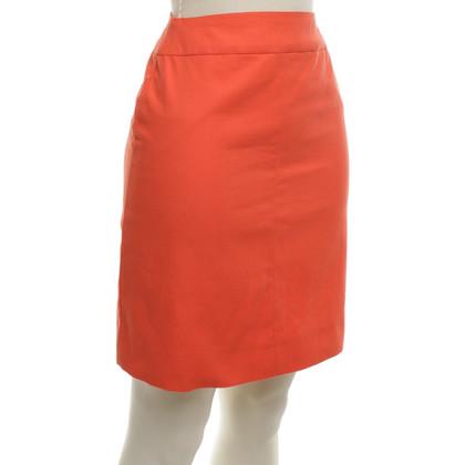 Chanel Minirok in Orange
