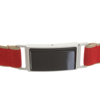 Marni for H&M Elastic belt in red
