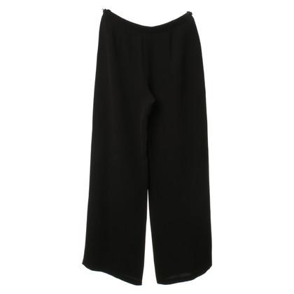 Armani Marlene-broek in zwart