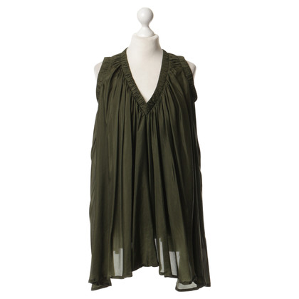 Donna Karan Dress in olive green