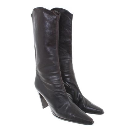 Plein Sud Boots in Bruin
