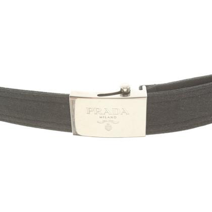 Prada Belt in anthracite