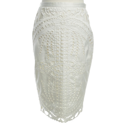Ermanno Scervino skirt with lace pattern