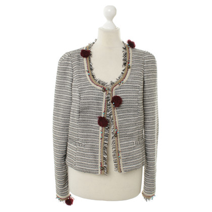 Maison Scotch Blazer in black and white