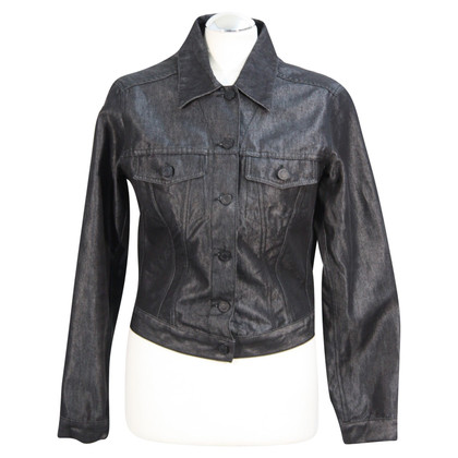 Gucci giacca di jeans in nero