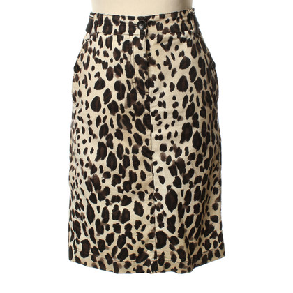 Marc Cain Leopard print pencil skirt