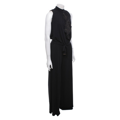Michael Kors Jumpsuit met decoratieve jabot