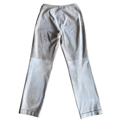 Chanel Pantaloni di pelle in beige