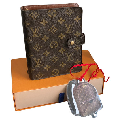 Louis Vuitton Agenda aus Monogram Canvas