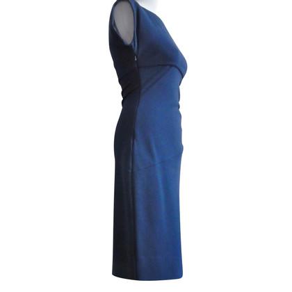 Diane von Furstenberg Gerafftes Kleid in Blau