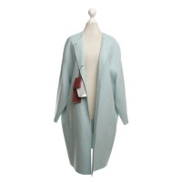 Max Mara Light Blue Coat wool