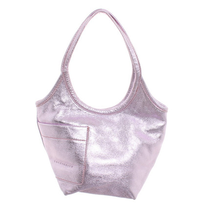 Coccinelle Handbag in lilac-metallic