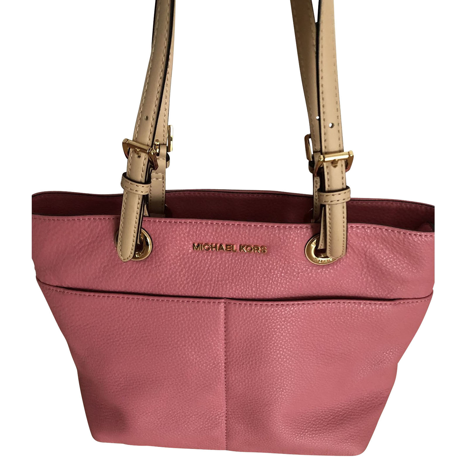 Michael Kors Handtasche aus Leder in Rosa Pink Second