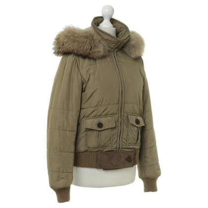 Alberta Ferretti Short down jacket