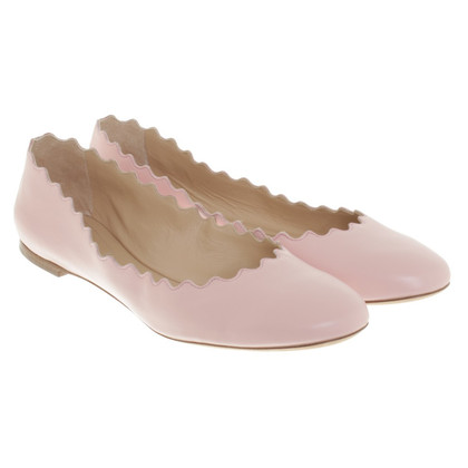 Chloé Ballerinas in pink