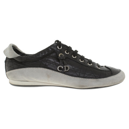 Christian Dior Sneakers met Cannage quilten