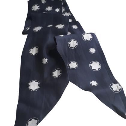 Mont Blanc zijden sjaal