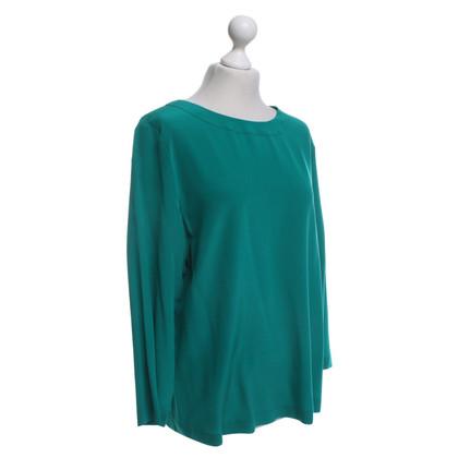 St. Emile Silk blouse in green