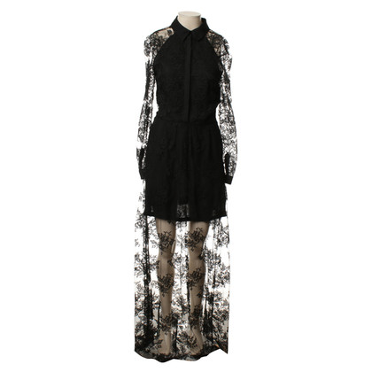 Kaviar Gauche Lace dress in black
