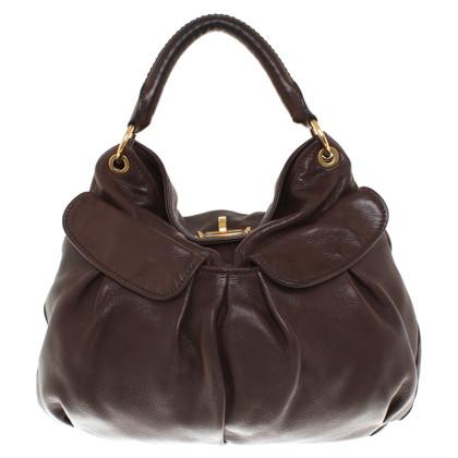 Miu Miu Handtasche in Braun