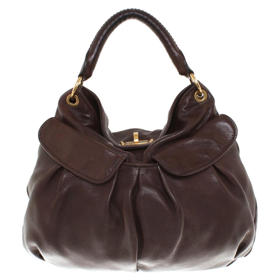 miu miu handtasche in braun second hand miu miu handtasche in braun gebraucht kaufen f r 580. Black Bedroom Furniture Sets. Home Design Ideas