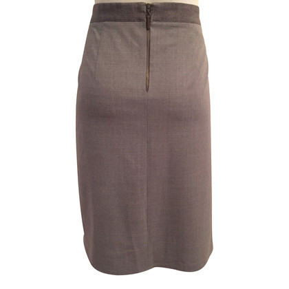 Brunello Cucinelli skirt with drapery