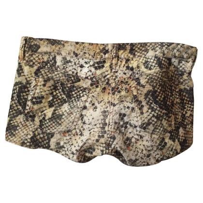 Isabel Marant stampa Pantaloncini serpente