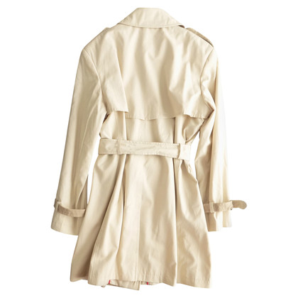 DKNY Trench beige bicolore