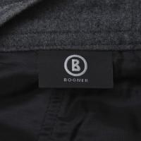 Bogner pantaloni classici in grigio scuro