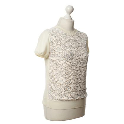 Chloé Shirt mit Lochspitze