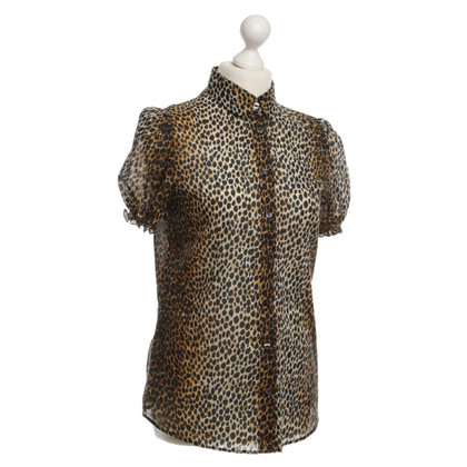 D&G Top con stampa animalier