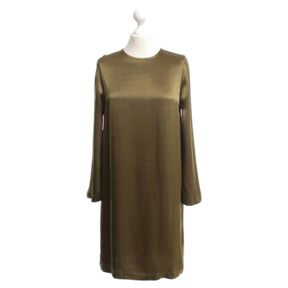 Ganni Dress in olive green