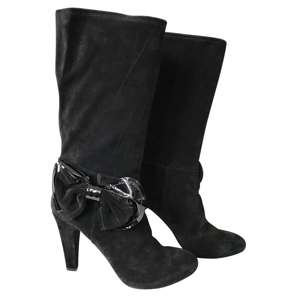 Red Valentino Suede boots