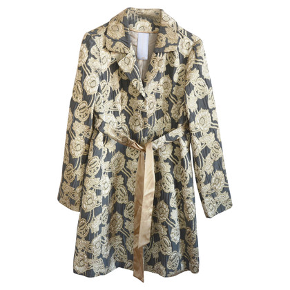 Schumacher Coat with pattern