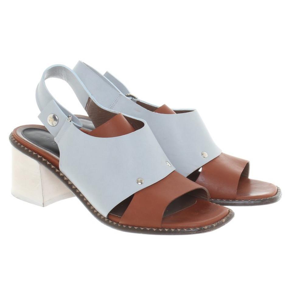 Marni Sandals in Bicolor