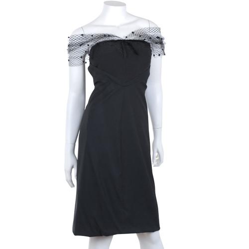 82df2d72346 Louis Vuitton Cocktail dress with tulle - Second Hand Louis Vuitton ...