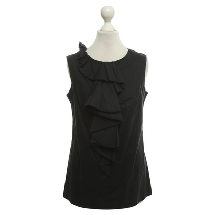 Diane von Furstenberg top in black