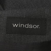 Windsor skirt in dark gray