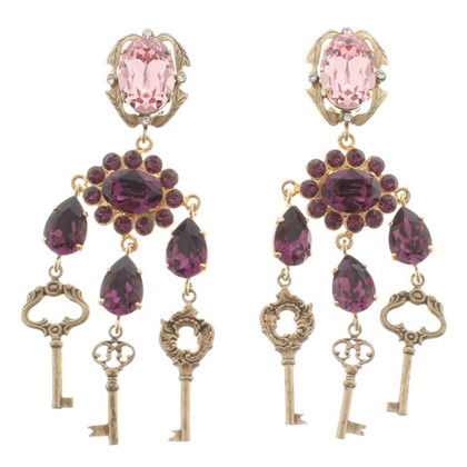 Dolce & Gabbana Ear clips with gemstones