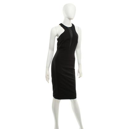 Elisabetta Franchi Black dress with mesh