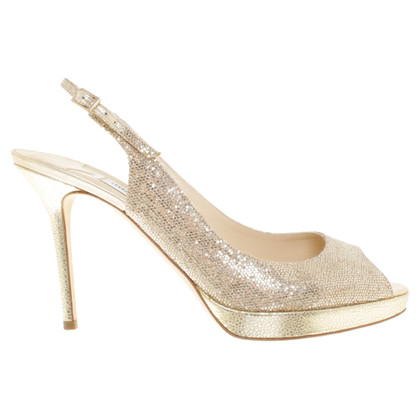 Jimmy Choo punte color oro