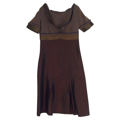 Miu Miu Brown silk dress