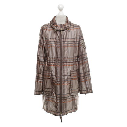 Airfield Short coat with pattern
